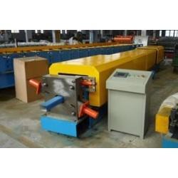 Steel downpipe roll former making machine