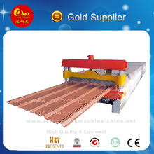 Machine de fabrication de toits ondulés