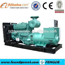 Strong Power ! 1000KW TBG620V12 gas turbine generator for sale