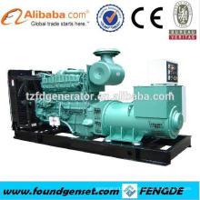 Poder Forte! Gerador de turbina a gás 1000KW TBG620V12 para venda