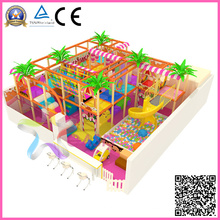 Kids Indoor Playgroud equipamentos (TQB007TG)
