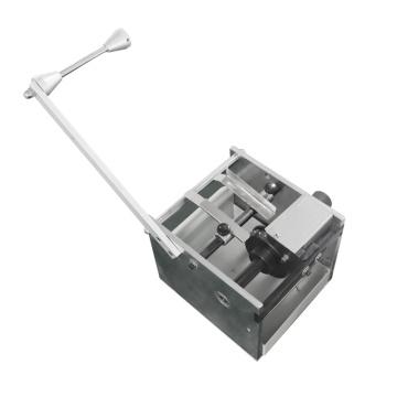 Máquina de corte manual de resistores e capacitores