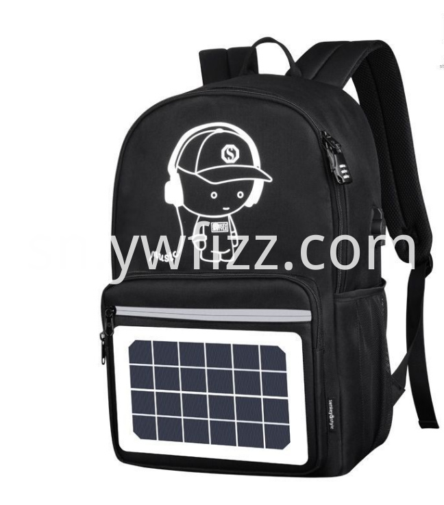 Outdoor solar backpack