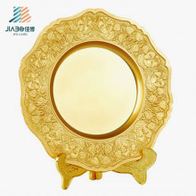 Top Sell 23cm Custom Logo Commemorate Plaques Metal Souvenir Plate