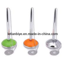Bolígrafo de metal con cadenas de bolas (LT-C011)