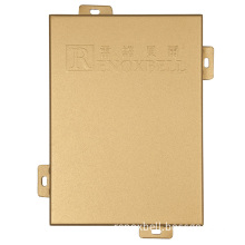 Gold Aluminum Panel for Curtain Wall/Cladding/Facade
