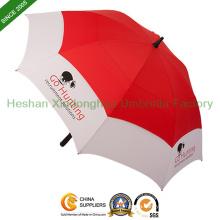 """68""""Arc Fiberglass Windproof Double Canopy Golf Umbrellas (GOL-0034FDA)"""