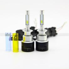 Schnell bewegliche Steckdose 9005 h3 h4 h7 60w v5 schwarz Scheinwerfer super helle LED-Scheinwerfer