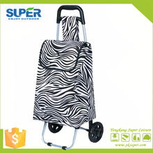 Foldable Shopping Hand Cart Supermarket Shopping Cart (SP-527)