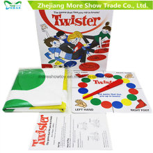 Twister Game Family Board Game Kid Adulto Brinquedo Educativo Diversão Favores de festa