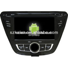 Factory directly !Quad core car dvd player android for car,GPS/GLONASS,OBD,SWC,wifi/3g/4g,BT,mirror link, for Elantra2013-2014