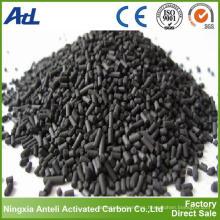 Carbón activado impregnado carbón a granel para la eliminación de H2S del biogás