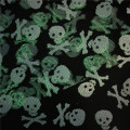 Halloween Decoration American Tulle with White Skulls B