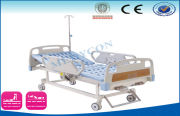 Intensive Care Bed , Critical Care Beds With Abs Side Rail , Manual Crank