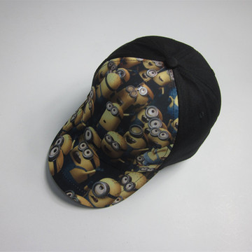 Kids Lovely Dave Print Sports Cap