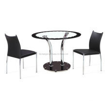 Oval Shape Dining Table and Chair