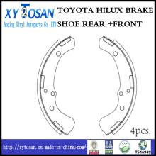 Toyota Truck Pickup Bremsbacke für K2249 04494-26070 04494-30011 04494-30010 04496-30011 04496-30010 04494-35050 04496-35030
