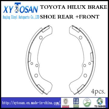 Toyota Truck Pickup Brake Shoe for K2249 04494-26070 04494-30011 04494-30010 04496-30011 04496-30010 04494-35050 04496-35030