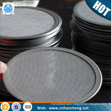 13 25 47 mm diameter 0.2 micron stainless steel 304 wire mesh filter disc