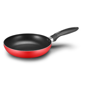 Red Aluminum Press Non-stick FryPan