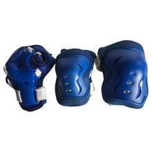 Blue Protective Set for Kid Skating