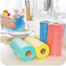 Tissu non tissé Spunlace pour nettoyage nettoyé par essuyage