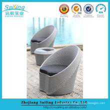 Newest Poly Rattan Furniture Patio Chairs Armchairs