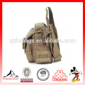 Man's Canvas army Travel Military Messenger Sling Shoulder Hiking Bag Small