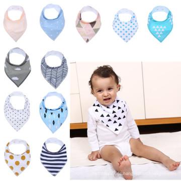 Speichel Handtuch 100% Baumwolle benutzerdefinierte Babylätzchen