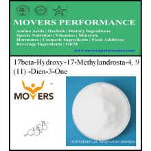 Produtos Populares 17beta-Hydroxy-17-Methylandrosta-4, 9 (11) -Dien-3-One 99%