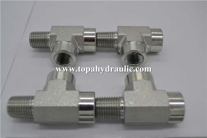 Duffield compression oil hose fittings