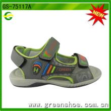 Chegada nova alta qualidade sandália esporte para crianças menino (gs-75117)