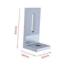Стоимость сохранения алюминиевый солнечный монтажный комплект системы L нога