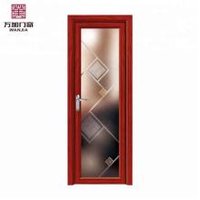 Perfil de alumínio para janela e porta, portas da casa moderna interior, sistema de porta de batente de alumínio