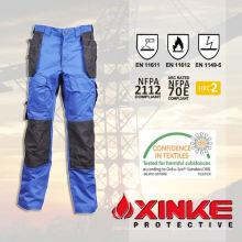 baixo formaldeído fr água e óleo repelente de calças para os trabalhadores