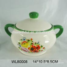 Olla de cerámica personalizada, olla de cerámica, olla de cerámica