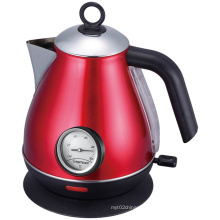 Stainless Steel Cordless Jug Electric Kettle with Thermometer