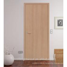Puerta de madera interior / diseños de puerta de madera moderna interior