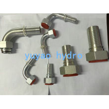 DIN Stainless Steel Hydraulic Hose Fitting Adapter