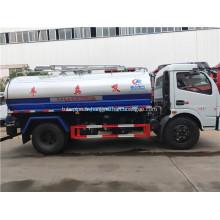 5mm acier au carbone 2000-3000 litres camion aspirateur de toilettes