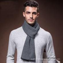 La mode des hommes d'hiver chaud laine tissé longue écharpe (YKY4610)