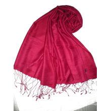 Модная длинная шелковая водная пашминовая шаль