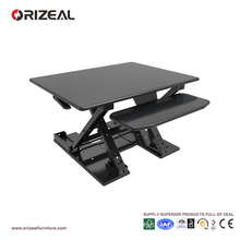 Orizeal stand up desk, standing computer desk, cheap desk riser (OZ-OSDC008)