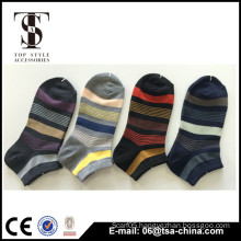 Jacquard mens ankle socks boat socks runing sport socks
