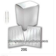 Agulha de perfuração G20 316L inox
