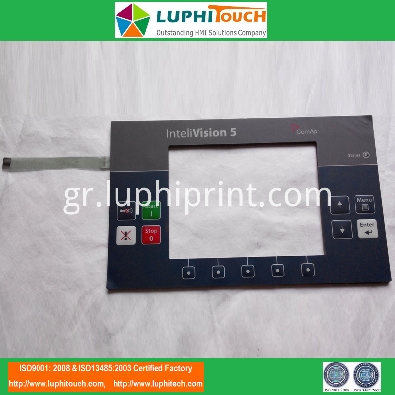 ComAP InteliVision 5 Industrial Operator FR4 Membrane Keypad
