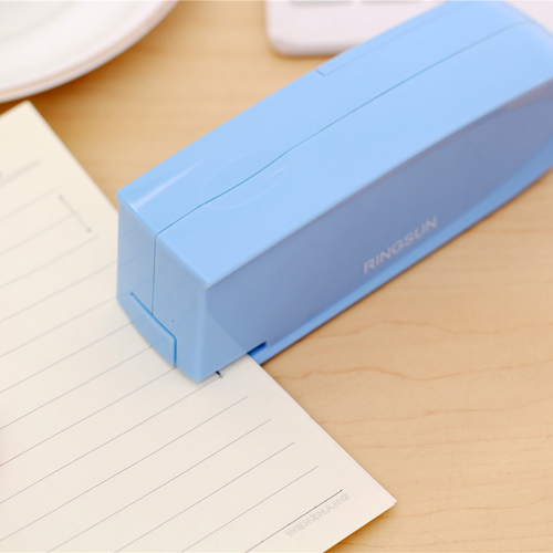 Kawaii Mini Battery Power Stapler