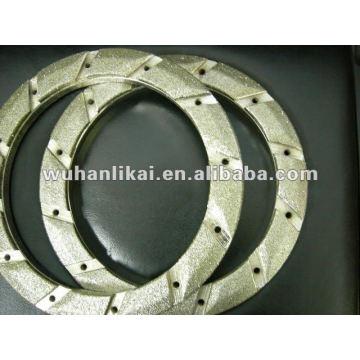 гальванические алмазный шлифовальный круг для тормозной колодки