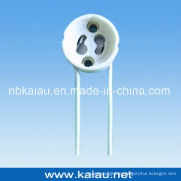 Base de lâmpada de porcelana GU10
