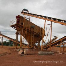 100tph Capacity Stone Crushing Granite Sand Making Plant